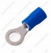 Клемма кольцевая (№29) d=6.4мм VR2-6 изолированная сечение 1.5-2.5 мм2; синяя
