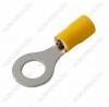 Клемма кольцевая (№33) d=8.4мм VR5.5-8 изолированная сечение 3.5-5.5 мм2; желтая