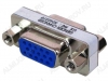 Переходник (2196) VGA 15pin гнездо/VGA 15pin гнездо