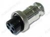 Разъем (416) MIC16-4pin гнездо на кабель