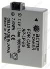 Аккумулятор для CANON AP-LP-E5/NP-5 (аналог LP-E5) Li-Ion; 7.4V 850mAh