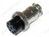 Разъем (417) MIC16-8pin гнездо на кабель