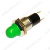 Лампа индикаторная 12V RWE-208 зеленая, d=10.0mm