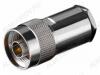 Разъем (446) N-S213P Штекер на кабель RG-213 под пайку