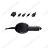 Адаптер DC/DC 12V/5V MULTIMEDIA 1000/ROUT 1000mA Блок питания/зарядное устройство для любых USB-совместимых устройств; 5 сменных разъемов: MicroUSB, MiniUSB, USB гнездо, телефоны Nokia, iPod /iPhone