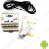 Радиоконструктор Интеллектуальное управляющее и охранное устройство GSM модуль на DIN-рейку  BM8039D базовый GSM-модуль на din-рейку для построения разнообразных систем охраны и/или управления различными объектами с помощью СМС-сообщений.