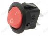 Сетевой выключатель RWB-212 красный круглый d=20.7mm; 6A/250V; 2 pin