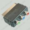 Переходник (2052) SCART штекер/3RCA гнезда COMPONENT