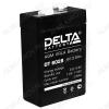 Аккумулятор 6V 2.8Ah DT 6028 свинцово-кислотный; 66*33*97+6