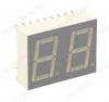 Индикатор DA56-11SRWA LED 2DIG,0.56',R,AN;28M