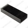 Радиатор HS117-100 алюминий 100х43х20, ребристый, 7.1 грС/Вт, 0.66 кг/м