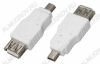 Переходник (5061) USB A гнездо/MINI USB B 5pin штекер
