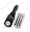 FM Модулятор (F525) черный MP3, ПДУ, карты USB/SD/MMC