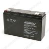 Аккумулятор 6V 12.0Ah VRLA6-12 свинцово-кислотный; 151*51*94+6