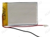 Аккумулятор 3.7V LP243454-PCB-LD 350mAh Li-Pol; 34*54*2.4мм                                                                                                               (цена за 1 аккумулят