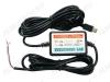 Адаптер питания AV-1028 для видеорегистратора (разъем MINI USB B 5-pin) кабель 3м; (5V 1500mA), скрытая установка(гарантия 2 недели)
