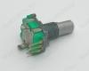 Потенциометр энкодер а/м EC11-20F-N 3 pin Вал 20 мм, лыска