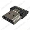 Разъем (614) HDMI-7009 Штекер без корпуса