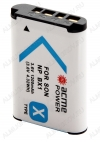 Аккумулятор для SONY AP-NP-BX-1 (аналог NP-BX1) Li-Ion; 3.6V 1100mAh