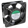 Вентилятор 220VAC 120*120*38mm DP200A2123XBL.GN (алюминиевый корпус) 0,14A; 2700 об; 44dB; Ball