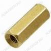 Стойка (№60) для платы PCHSS-12 металл h=12мм, резьба М3 внутренняя+внутренняя