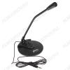 Микрофон настольный RDM-115 30-16000 Гц; сопротивление 2,2 кОм; чувствительность 58 дБ; регулировка угла наклона; штекер 3,5 мм.