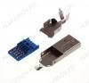 Разъем (3720) USB A-M (USB 3.0) Штеккер на кабель