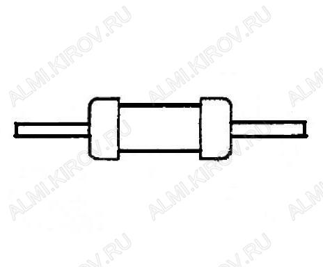 Резистор 300 Ом 0.5Вт МЛТ (Распродажа)
