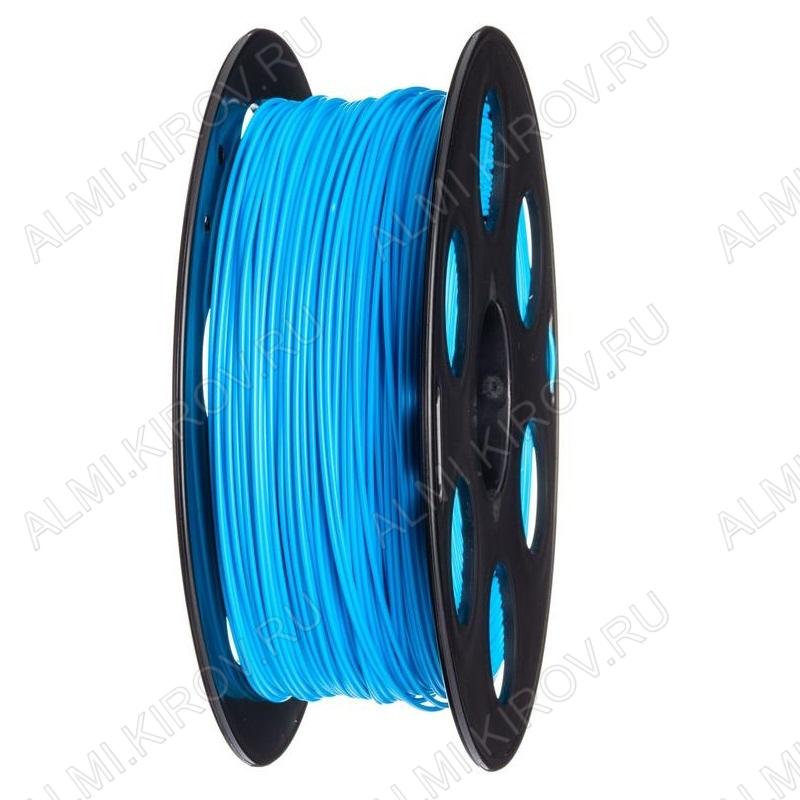 ABS пластик для 3D принтера 1.75мм. Голубой (6057) 1кг.; Материал: Акрилонитрилбутадиенстирол; Плотность: 1,05 г/см; Темп. экструзии: 230 - 240 °С; Тепл. изделия: 105 °C; Производитель:  (ФДпласт)