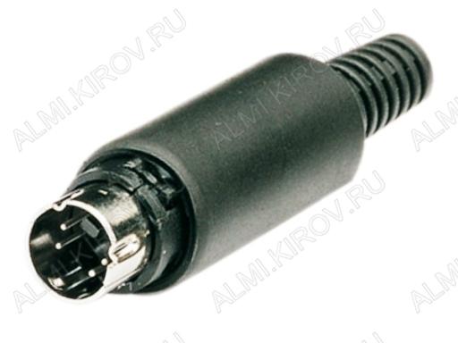Разъем (361) MDN-4M Вилка на кабель 4 конт.