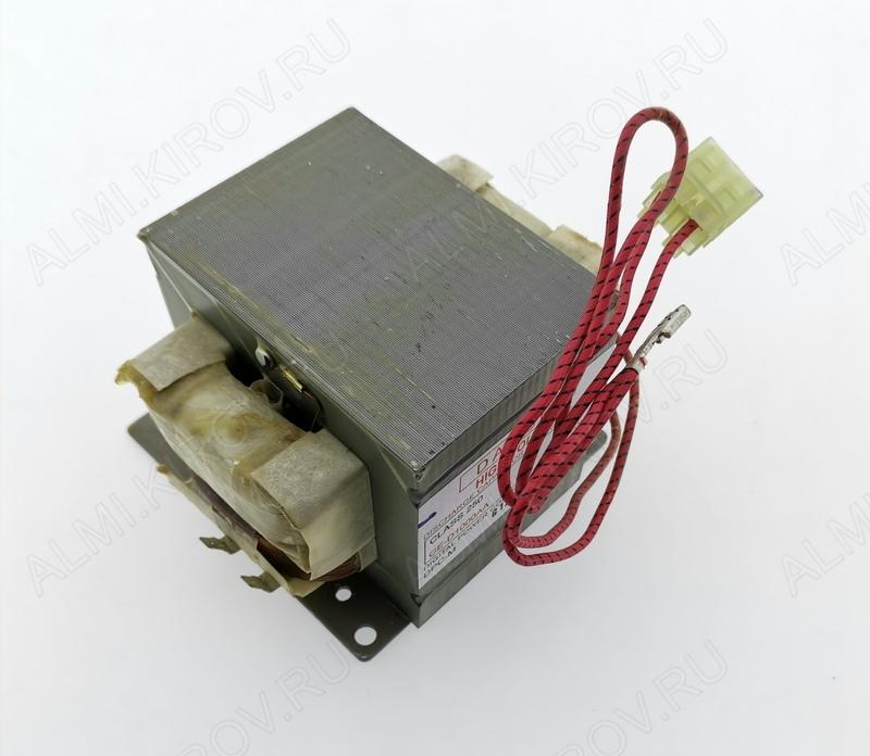 Трансформатор СВЧ 1000W SHV-DT90AA(GE-D1000AA). 1000W при 60Hz, для сети в 50Hz мощность будет ниже. 60Гц!