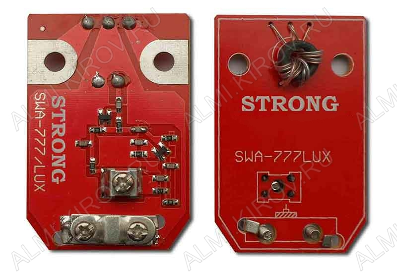 Антенный усилитель SWA-777/LUX МВ(10-13dB); ДМВ(34-45dB); 50-100km