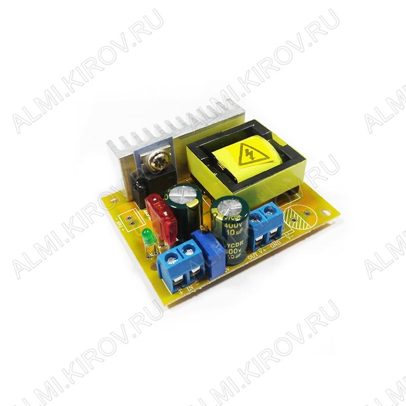 Радиоконструктор Преобразователь DC/DC в 45...390В(5А) из 8...30В (PW843) Повышающий. Частота преобразования 75 кГц,