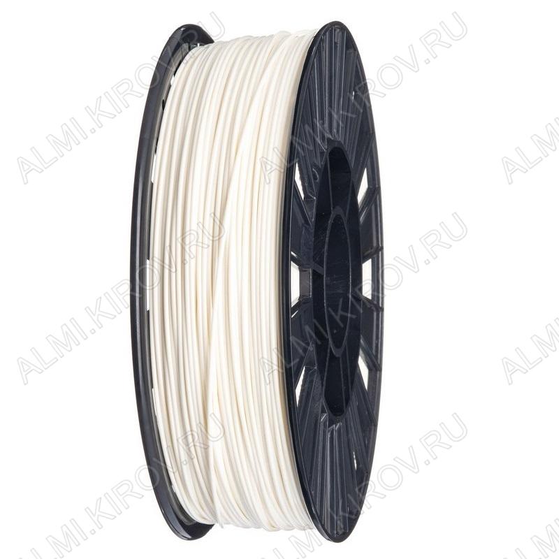 ABS пластик для 3D печати 1.75мм. Белый. (м) (6051) 1м..; Плотность: 1,05 г/см; Темп. экструзии: 230 - 240 °С; Тепл. изделия: 105 °C; Производитель:  (ФДпласт)