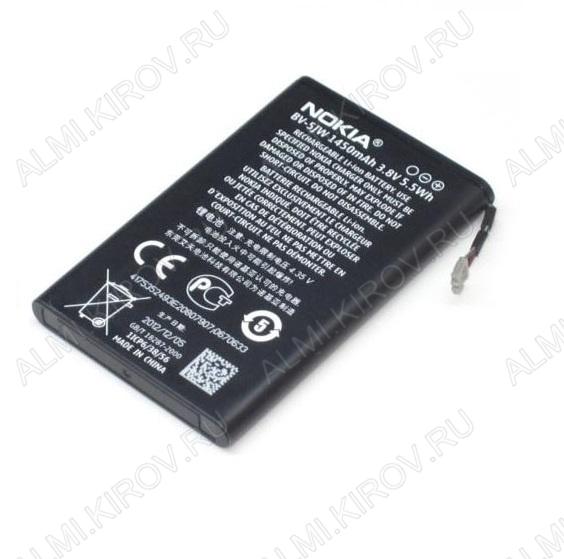 АКБ для Nokia Lumia 800/ N9 Orig BV-5JW