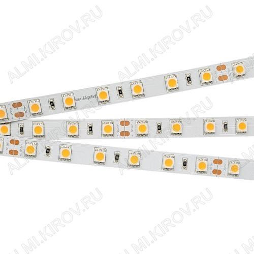Лента светодиодная RT 2-5000 24V White6000 2x (008829(B))  белый холодный 24V 14.4W/m 5060*60