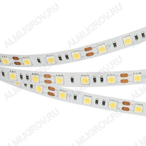 Лента светодиодная RT 2-5000 12V Day4000 2x (012338(B))  белый нейтральный 12V 14.4W/m 5060*60