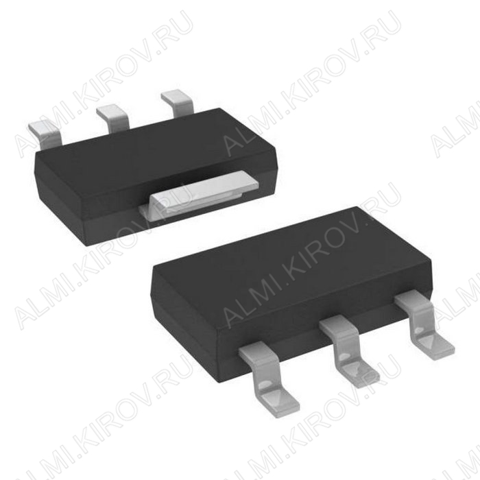Микросхема LD1117S25C +2.5V,0.8A;LowDrop