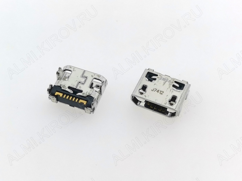 Разъем/гнездо для Samsung C3312/S5300/S6102/i9103/S5302/S6802/i9070
