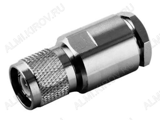Разъем (2960) TNC-S213P Штекер на кабель RG-213 под пайку