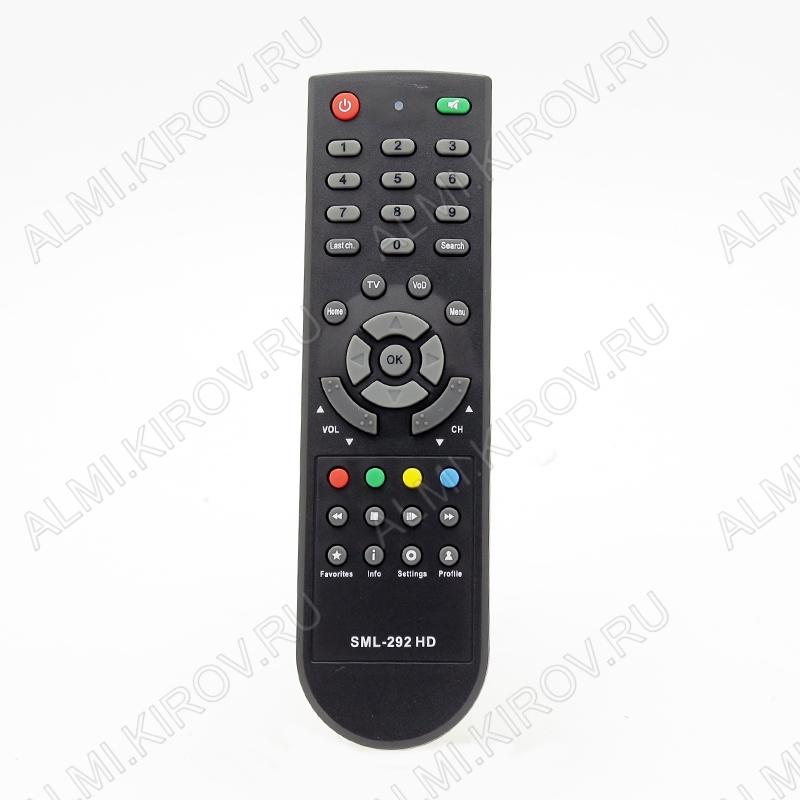 ПДУ для РОСТЕЛЕКОМ SML-292 HD (SMARTLABS) IP-TV