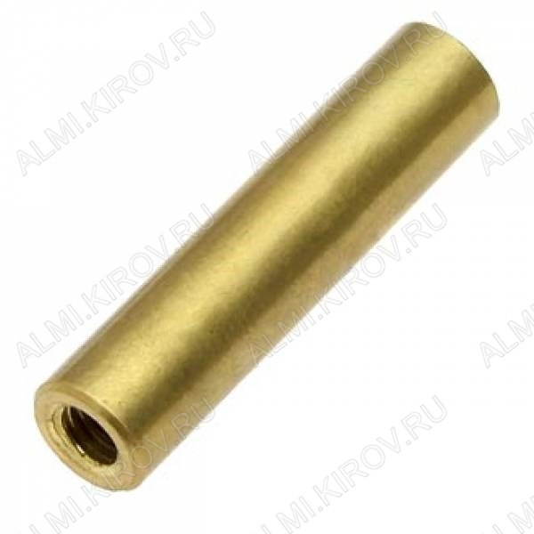 Стойка (№63) для платы PCSS-25 металл h=25мм, резьба М3 внутренняя+внутренняя