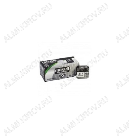 Элемент питания G/SR516SW/317 1.5V;серебряно-цинковые;1/10/100                                                                                    (цена за 1 эл. питания)
