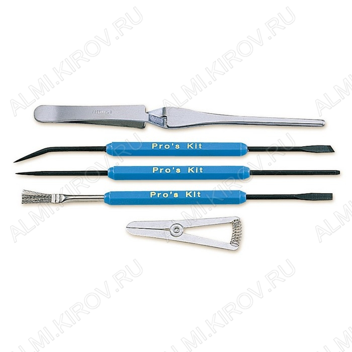 Набор инструментов для пайки (5 предметов) 108-361