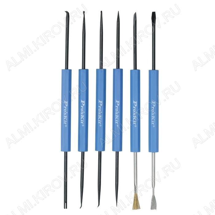 Набор инструментов для пайки (6 предметов) DP-3616