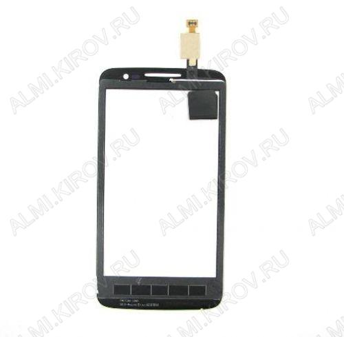 ТачСкрин для  Alcatel OT-5020 черный