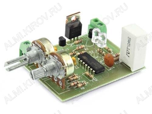 Радиоконструктор Лабораторный блок питания RP118 Входное напряжение: 9...45V; Выходное напряжение: 0...30V; Ток нагрузки: 0...3A;
