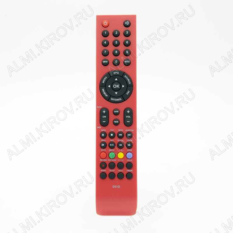ПДУ для SHIVAKI 051D RED (вариант 2) LCDTV