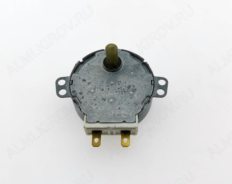 Мотор вращения поддона СВЧ SS-5-240-TD 220V 220-240V, 5 об/мин, 4W , вал: диаметр 7 мм, длина 14мм, срез 10мм.