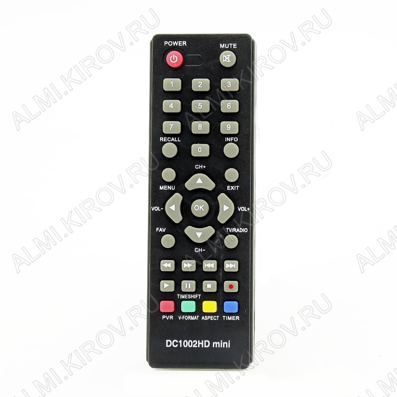 ПДУ для D-COLOR (для ресивера DC1002HD mini) DVB-T2